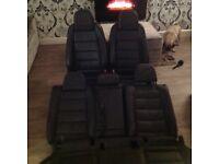 Golf gti r32 mrk 5 mk6 caddy heated leather interior