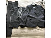 Men's Navy 3 Piece Suit