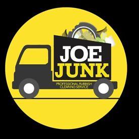 Joe Junk Rubbish Removal Edinburgh - Home, Office, Garden clearances. Builders, trade waste welcomed