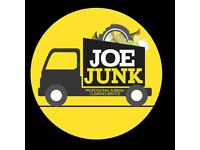 Joe Junk Rubbish Removal Edinburgh - Home, Office, Garden clearances. Builders, trade waste welcomed