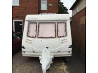 Sterling Europa 4berth with fixed bed and motor mover