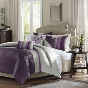 Duvet Set - Madison Park Tradewinds 6 Piece King