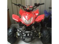 125cc Quad Bike Brand New off road 2016 with reverse gear. Free Helmet goggles gloves and delivery
