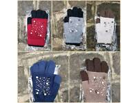 New 3 in 1 Gloves With Beading Design