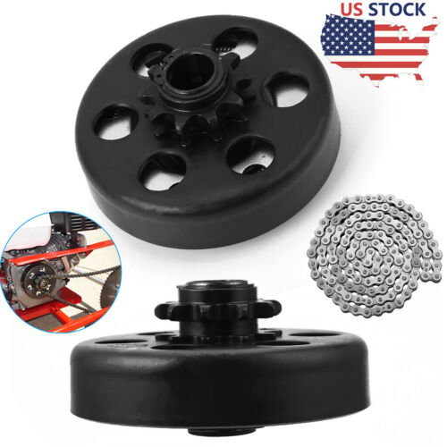 """Centrifugal Clutch 3/4"""" Bore 10Tooth with 420 Chain Kit For Predator 212cc 6.5HP"""