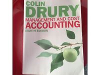 Management and cost accounting by Collin Drury- Eighth Edition.