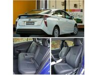 LEATHER CAR SEAT COVERS FOR TOYOTA PRIUS TOYOTA PRIUS PLUS TOYOTA AURIS TOYOTA AVENSIS