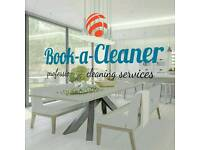 OFFER! Carpet Upholstery Rugs Curtains Cleaning with Book-a-Cleaner London