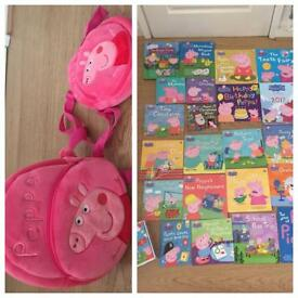 Peppa Pig books bundle, very unique