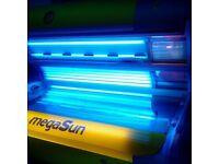 Megasun 5000 commercial sunbed. Ergoline,Hapro etc