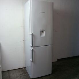 Hotpoint Fridge Freezer 187cm Height Water Dispenser Excellent Condition 6 Month Warranty