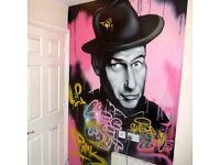 Graffiti artist available