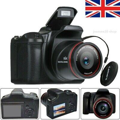Digital Camera Vlogging Video Camera SLR Camera 2.4 Inch 16x Zoom 1080P Ultra HD