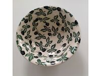 Emma Bridgewater very rare Blackberry soup/cereal bowl, excellent condtion