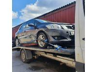 Toyota AURIS 2009 1.3 petrol spares or repairs doors