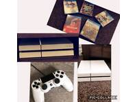 Ps4 plus games and controller