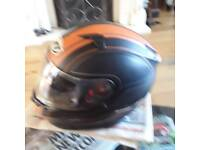 Bike helmet and boots Quick sale 60 pounds