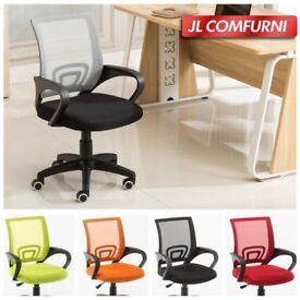 Brand new, still in box, office chairs x 2 - ergonomic