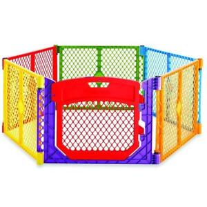 New North State Super Yard Color Play Ultimate Gate, Red, Blue, Green, Yellow