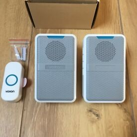 Wireless Waterproof Doorbell (Twin) (Brand New)