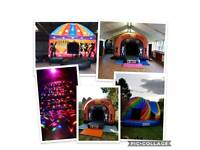 Bouncy Castle ,Disco Dome, Slides, Soft Play, Candy Floss, Popcorn Machine, hot tub lay z spa Hire
