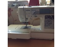 Brother Innov-ís 955 Computerised Sewing & Embroidery Machine.