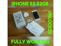 IPHONE 5S 32GB FULLY WORKING UNLOCKED GENUINE