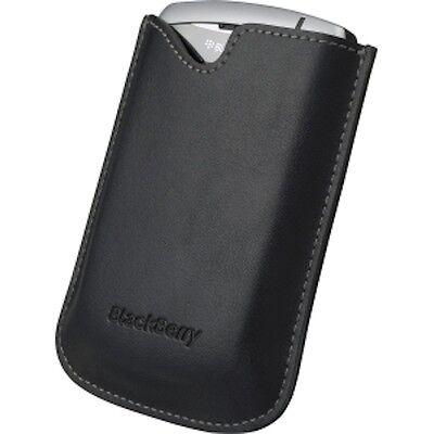 FODERO PELLE ORIGINALE per BLACKBERRY CURVE 8300 8310 8320 CON SENSORE LUCE LCD (Lcd Blackberry 8320)