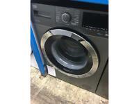 Beko anthracite Aquatech 9 kg washing machine new no packaging 12 month gtee
