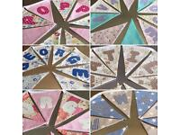 Personalised and themed bunting