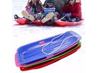 Plastic Snow Sled Boat Board Sledge Skiing Toboggan Kid Children Christmas Gifts