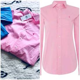 SALE# NEW ladies Ralph Polo Lauren shirts 100% Genuine with tags