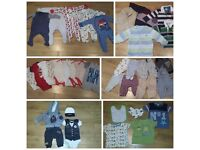 0-3 3-6 baby boy clothes bundle