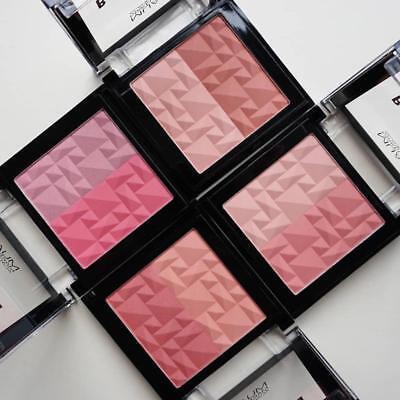 Make-up Blush Duo (MUA Makeup BLUSHED Cheek Blush Powder DUO CONTOURING BLUSHER Cruelty Free Vegan)