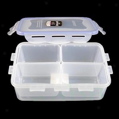 4-Grid Kitchen Snack Food Storage Box Case Container Fridge Crisper Cover S Food Storage Box Cover