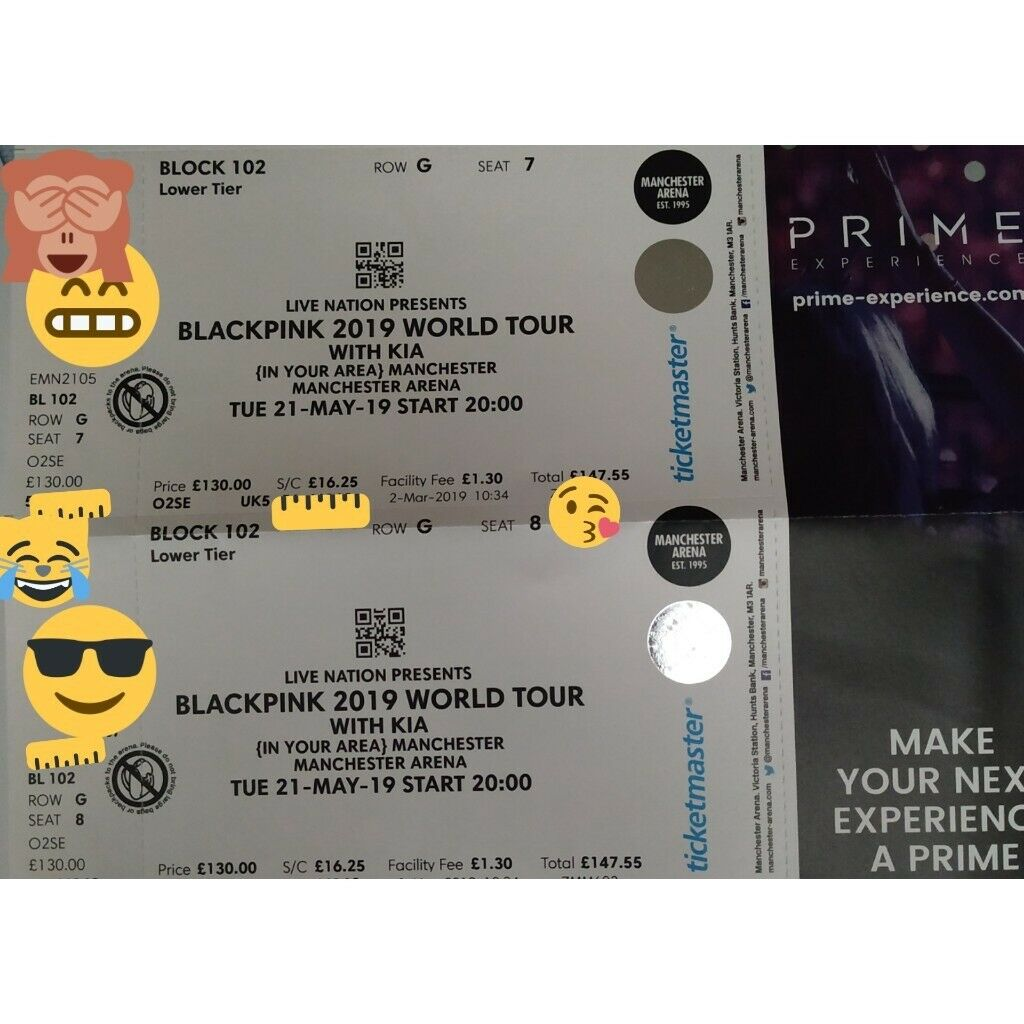 Blackpink 2019 World Tour With Kia In Your Area Manchester In Prestwich Manchester Gumtree