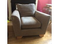 Marks & Spencer armchair brown £45