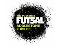 Futsal games in Addlestone (Indoor 5-a-side with tall goals)