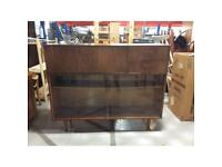 Avalon retro sideboard with glass doors to refurbish (100% of profits go to SPH)