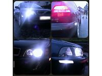 HID Lights For All Vehicles Supplied and Fitted All over Glasgow & Edinburgh XMAS SALES!!