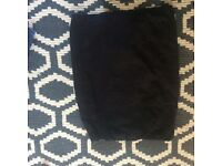 Black smart skirt size 12 maternity