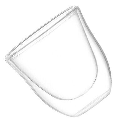 Tazza moderna a doppia parete in vetro trasparente - Perfetta tazza