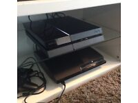 PS4 NEW WITH GAMES! 1TB!!!