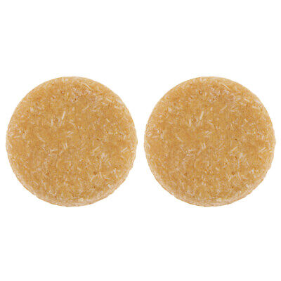 2x Honey Essence Hair Shampoo Conditioner Natural Solid Soap Bath Shower Bar
