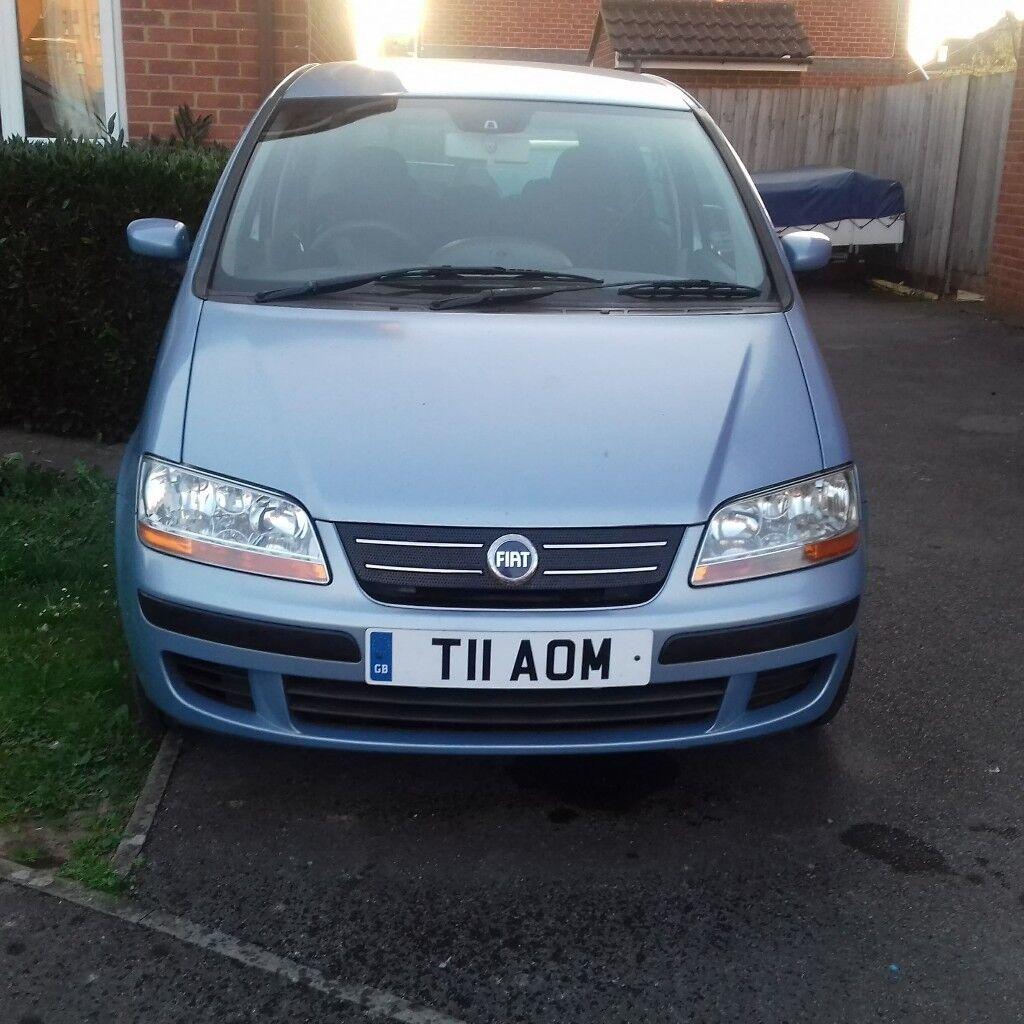 Fiat idea spare or repair | in Bridgwater, Somerset | Gumtree
