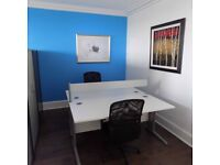 Up to two workstations available in shared prestigious Edinburgh West End offices
