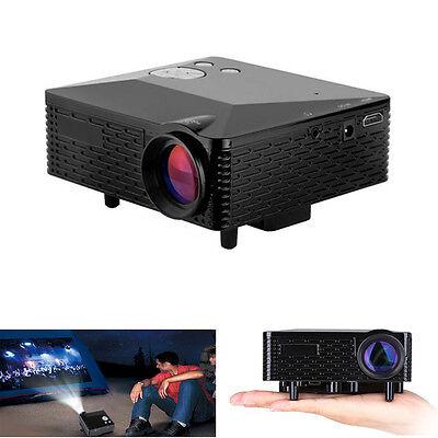 Home Mini Cinema Theater Multimedia LED LCD Projector HD 1080P PC AV TV VGA HDMI