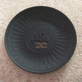 Wedgwood The Infant Academy Black Basalt Plate