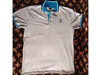 FERRARI T-shirt short sleeve Grey / Light Blue or White / Dark Blue or Blue