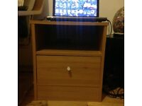 Two bed side tables in excellent conditions